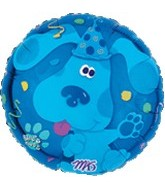 "18"" Blue&#39s Clues Party Confetti Balloon"