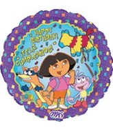 "18"" Dora the Explorer Feliz Cumplea�os"