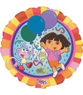 "18"" Dora the Explorer Nick Jr. Balloon"