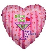 "18"" Valentines Olive You"
