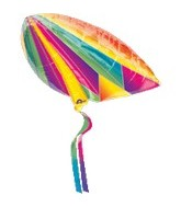 "29"" Jumbo Rainbow Kite Balloon"