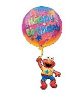 "39"" Happy Birthday Elmo Balloon"