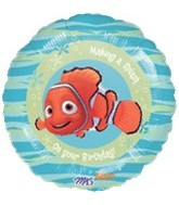 "18"" Finding Nemo Splash Birthday Balloon"