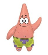 "40"" SpongeBob Balloon Square Pants Patrick"