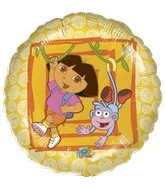 "18"" Dora the Explorer and Boots Balloon"