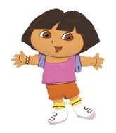 "32"" Dora the Explorer Balloon"