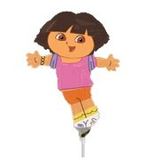 (Airfill Only) Dora The Explorer Balloon Shape