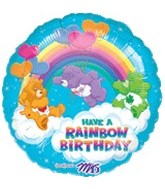 "18"" Care Bears Rainbow Birthday Balloon"