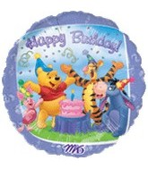 "18"" Winnie the Pooh and Friends Birthday"