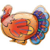 "27"" Turkey Balloon"