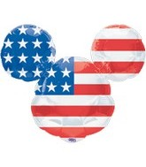 "27"" USA Mickey Mouse Head Balloon"