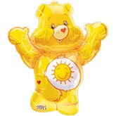 "33"" Care Bears Sunshine Bear Shape Mylar Balloon"
