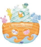 "26"" S.S. New Arrival Baby Balloon"