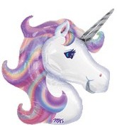 "33"" Jumbo Mylar Unicorn Balloon"