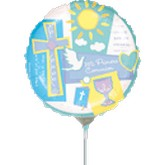 "9"" Airfill Only Mi Primera Communion Balloon"