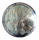 "18"" Happy New Year Stars Balloon"
