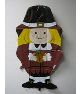 "33"" Pilgrim Shape Mylar Balloon"