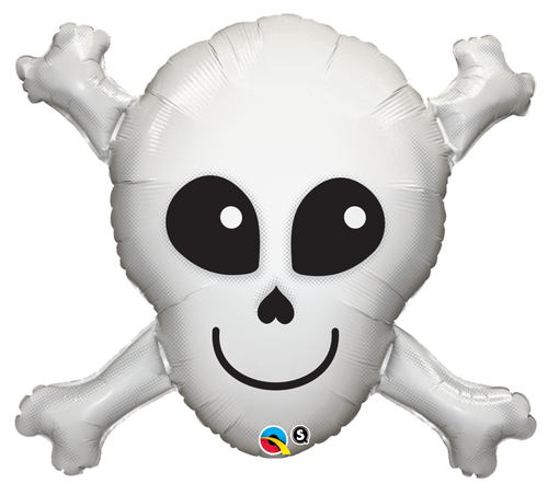 "32"" Happy Skull Balloon"
