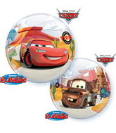 "22"" Single Bubble Lightning Mcqueen And Mater"