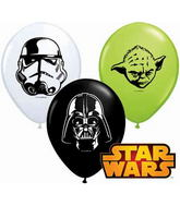 "5"" Special Assorted 100 Count Star Wars Faces Assorted"