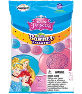 Party Banner Balloons 10 Count Disney Princess