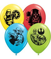 "11"" Special Assorted 25 Count Star Wars Assorted"