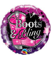 "18"" Boots And Bling"