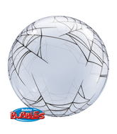 "24"" Deco Bubble Spider&#39S Web"