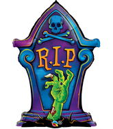 "36"" Packaged Rest in Peace (RIP) Tombstone"