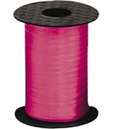 "3/16"" Poly Curling Ribbed Ribbon Rose"