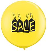 "36"" Sale Tags Yellow (2 ct.)"