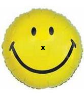 "20"" Smiley Face Balloon X Nose"