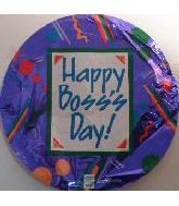 "18"" Happy Boss's Day Purple"