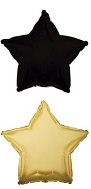 "18"" Antique Gold with Black Back Star"