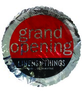 "18"" Linens-n-Thing Grand Opening Silver Foil Balloon"