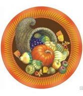 "18"" Thanksgiving Cornicopia Balloon"