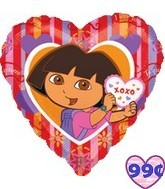 Dora the Explorer Hugs and Kisses