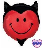 "23"" Smiling Devil Shape Jumbo Balloon"