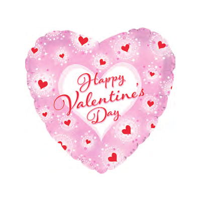 "18"" Happy Valentine's Day Heart Twinkles"
