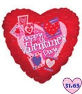 "36"" Heart Pix ""Happy VDay"""