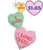 "50"" Conversation Hearts Holographic"