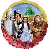 "18"" Wizard of Oz Mylar Party Balloon"