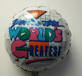 "18"" World&#39s Greatest Mylar Balloon"